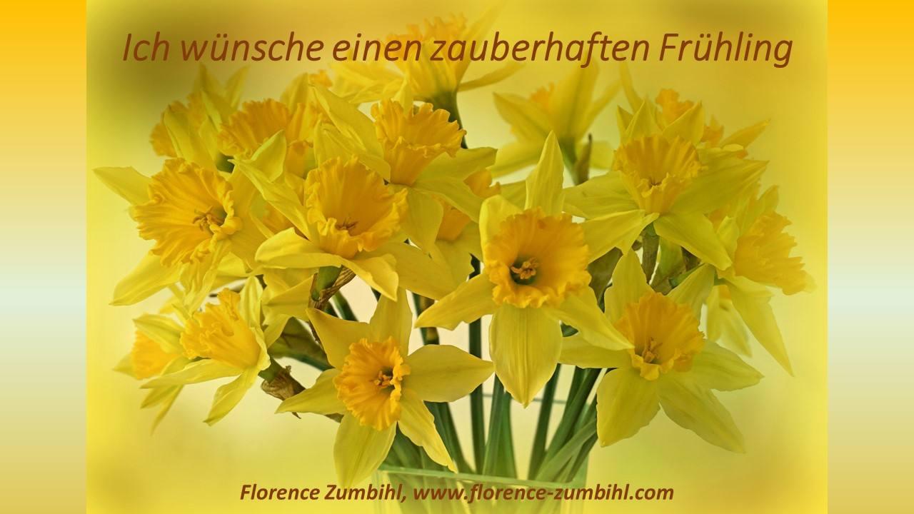 Frühlingserwachen - Newsletter vom 29. März 2017 - zumbihl florence frc3bchling 2017 newsletter