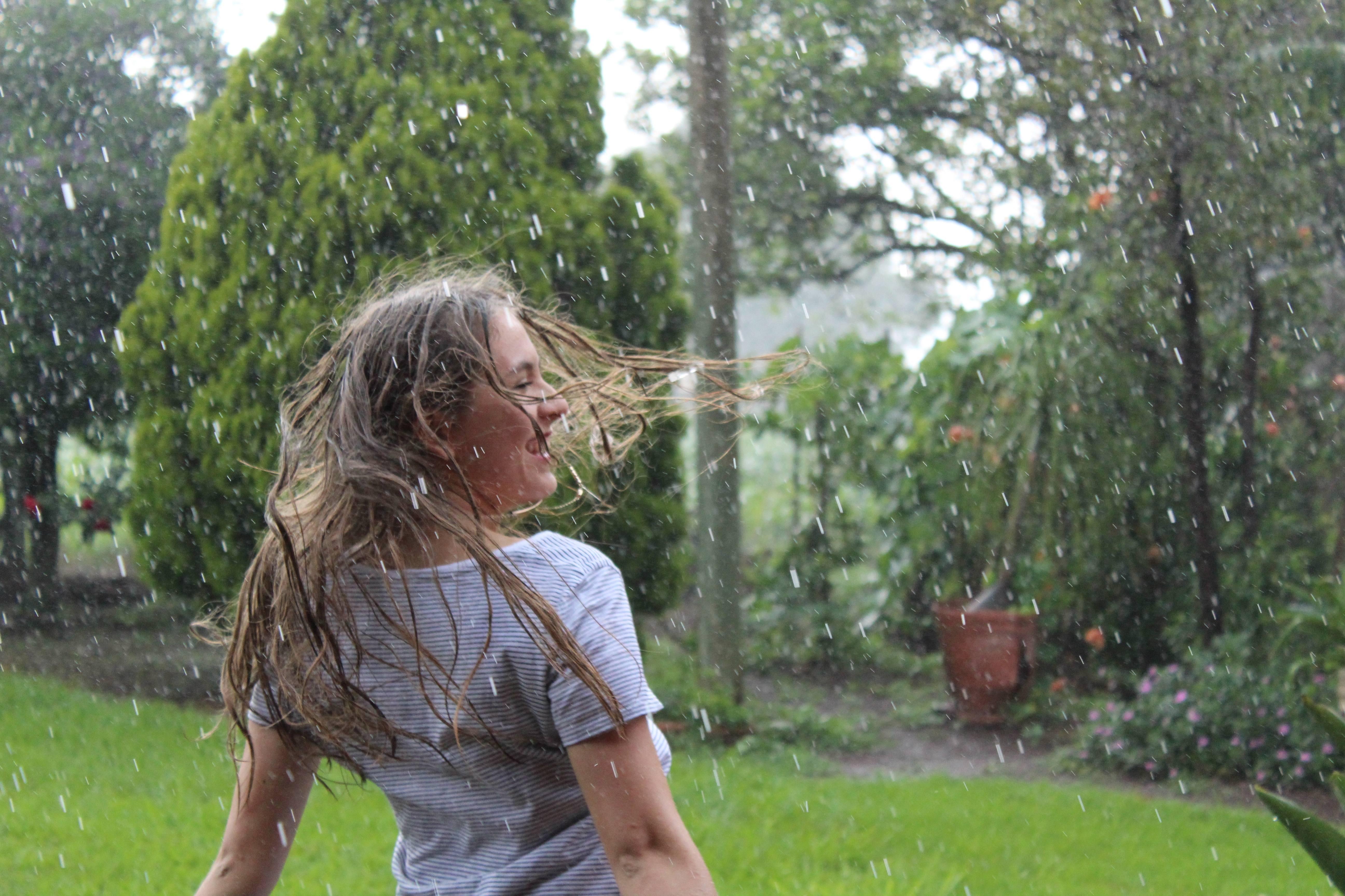 Sommer 2018 - Impressionen - regen tropfen glc3bccklich