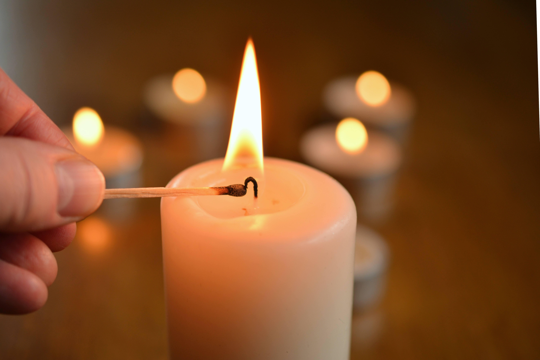 Advent, Advent - ein Lichtlein brennt - candle 1750640