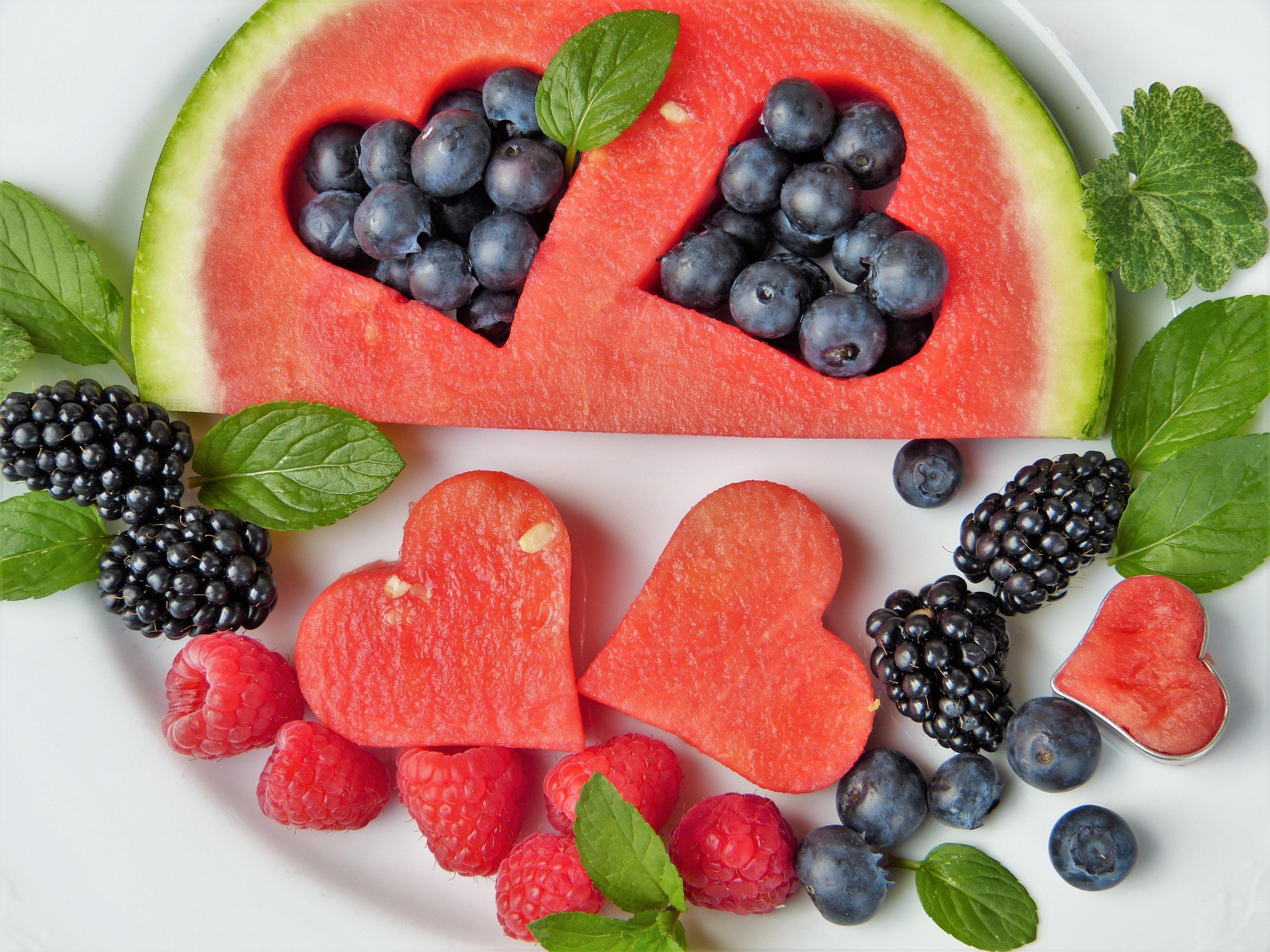 Sommer Obst Früchte