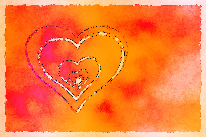 Herz Liebe und Selbstliebe