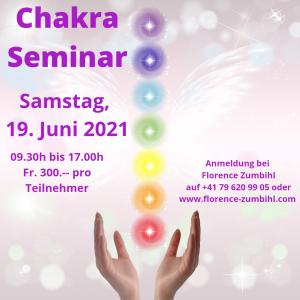 Chakra Seminar Florence Zumbihl